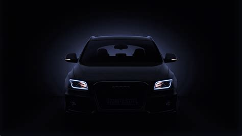 Audi Q5 Backgrounds by Audi Q5 Black Front View Wallpaper Wallpaper
