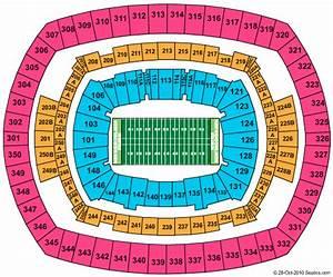 Metlife Stadium Seating Chart Views