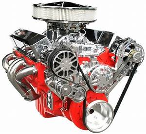Chevy Small Block Victory Series Kit With Alternator And A