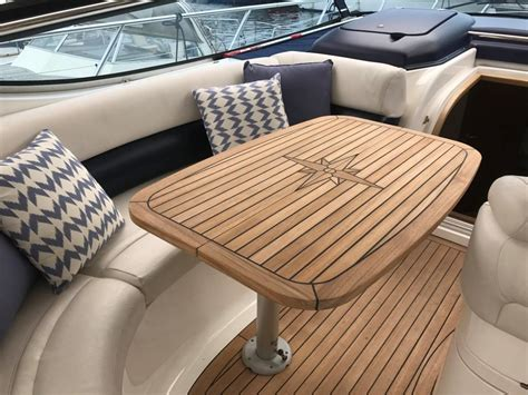 Folding Boat Table by Folding Sliding Marine Teak Tables