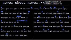 cheatercheaterbestfriendeater (chords / lyrics ...