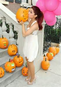 Cute Carving Pumpkins Ideas by Ariana Grande Nip Slip Nip Slip Pinterest