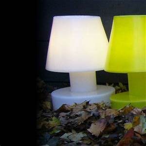 Lampe De Chevet Sans Fil : lampe sans fil rechargeable h 40 cm blanc h 40 cm ~ Dailycaller-alerts.com Idées de Décoration