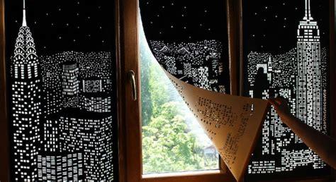 blackout blinds turn windows  beautiful city