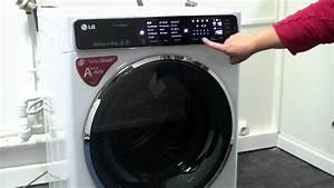 Machine A Laver 10 Kg : les num riques lave linge lg f14952whs avec connectivit ~ Nature-et-papiers.com Idées de Décoration