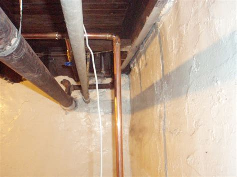 Replacing Galvanized With Copper Pipes  Plumbing Diy