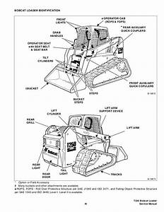 Bobcat T250 Compact Track Loader Service Repair Manual S  N