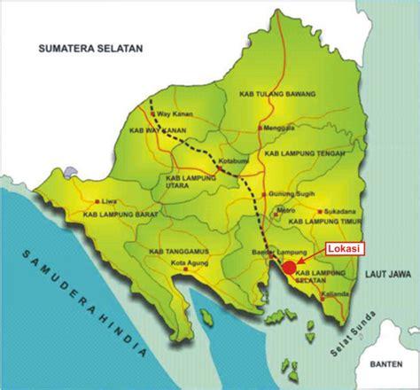 bumi ruwa jurai letak provinsi lampung