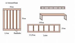 Sauna Selber Bauen Anleitung Pdf : bauanleitung bank f r die sauna bauplan ~ Lizthompson.info Haus und Dekorationen