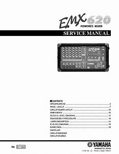 Yamaha Spx2000 Service Manual Free Download  Schematics