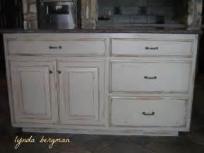 Lynda Bergman Decorative Artisan White Kitchen Cabinets