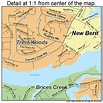 New Bern North Carolina Street Map 3746340