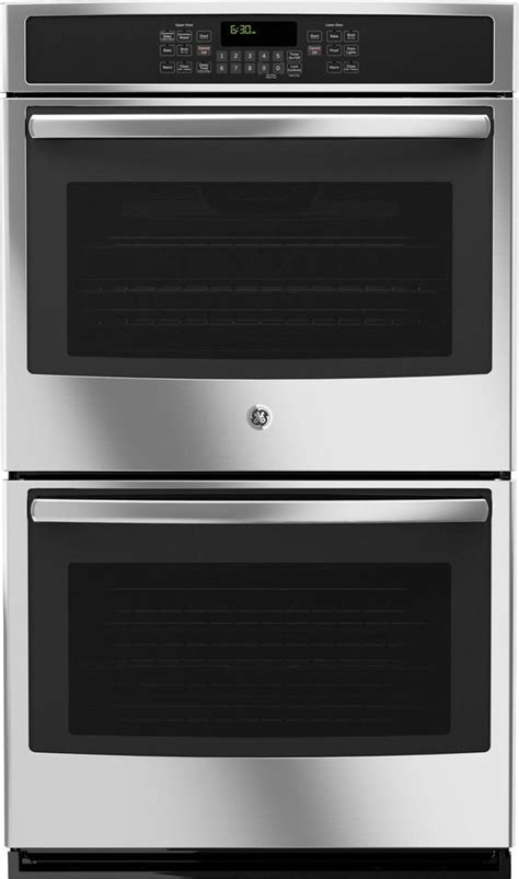 ge  built  double electric convection wall oven stainless steel  pacific sales