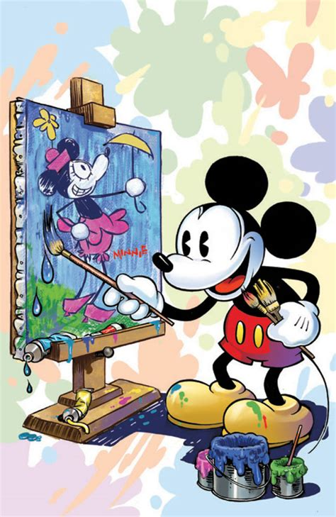Mickey Mouse Artist