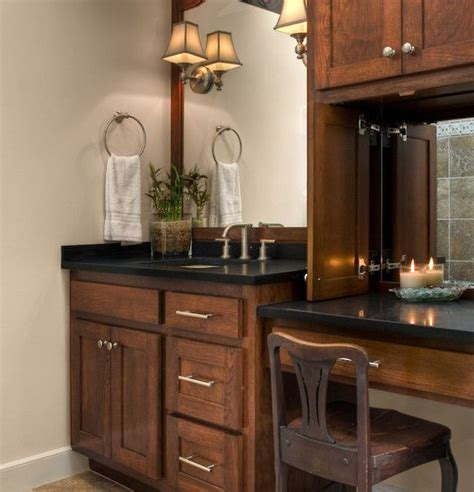 bathroom makeup vanities ideas  pinterest
