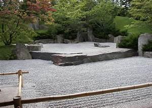 Kiesflächen Im Garten : japanischer garten zengarten geharkte kiesfl chen symbolisieren wasser ~ Markanthonyermac.com Haus und Dekorationen