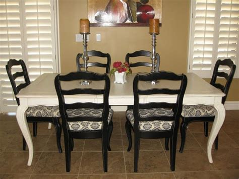 painted dining room table ideas diy home projects