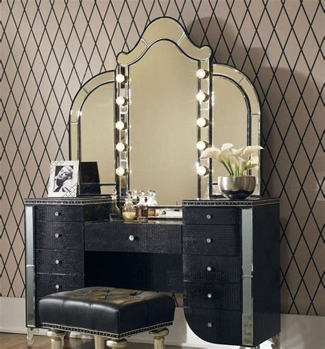 16 gorgeous vintage make up vanity design ideas