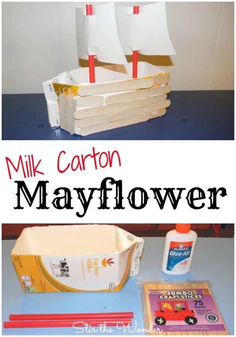 milk carton mayflower stir