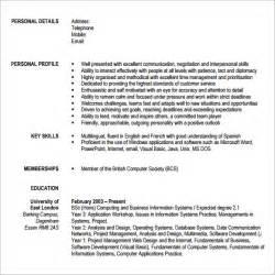 modern resume template 2015 sle modern cv template 7 free documents in pdf