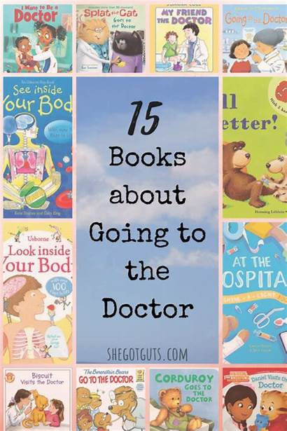 Books Doctor Preschool Going Toddler Fine Sharing