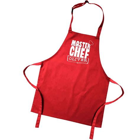 designer kitchen aprons personalised master chef kitchen cooking apron 3224