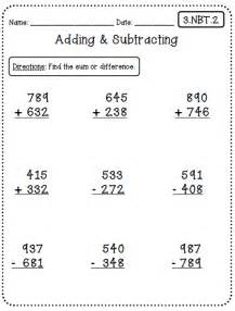 Common Core 3rd Grade Math Worksheets