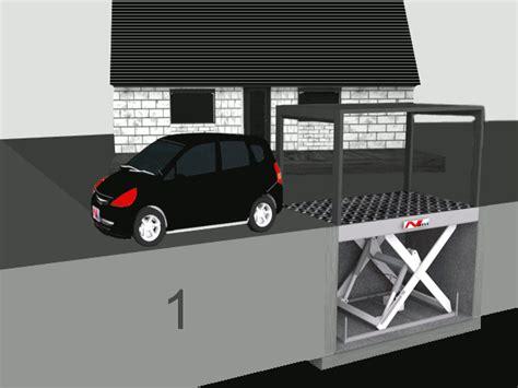 Pkw Aufzug Garage by Autolift Autoaufz 252 Ge Und Versenkbare Garagen Nani