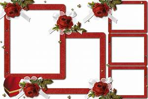 Red Rose frame by Umbhra on DeviantArt