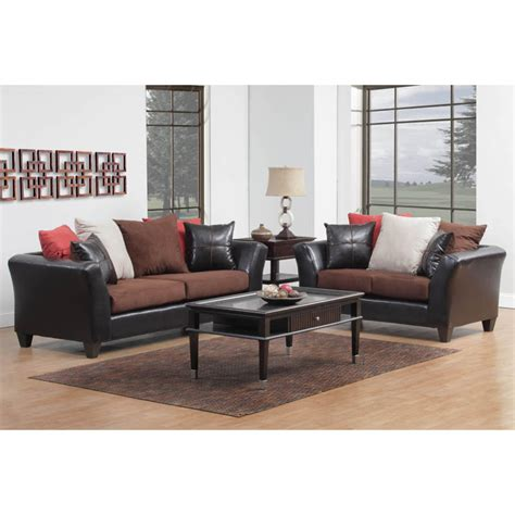 Loveseat And Chair Set by Delta Sofa Loveseat