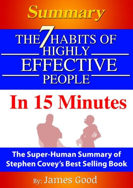 Summary The 7 Habits Of Highly Effective People  In 15