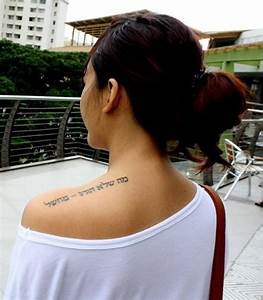 53 Marvelous Quotes Shoulder Tattoos