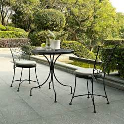richmond 3 piece outdoor bistro set black patio