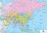 Maps of Asia and Asia countries | Political maps ...