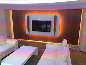 Wohnzimmer Vorwand Mit Deko Nische