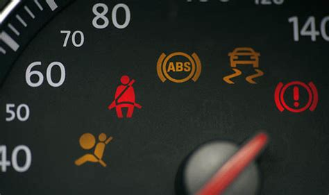 dashboard warning lights   signs  symbols
