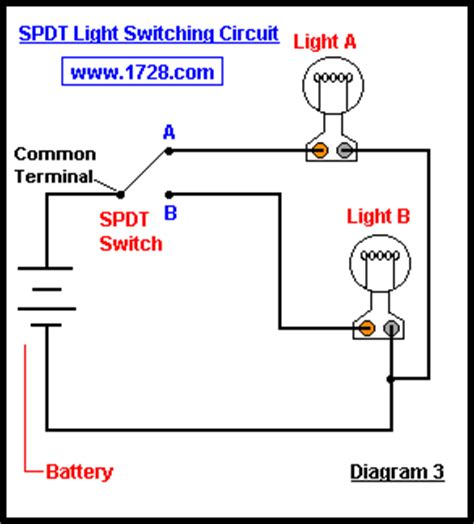Throw Switch To Schematic Wiring Diagram by Basic Electricity Tutorial Switches