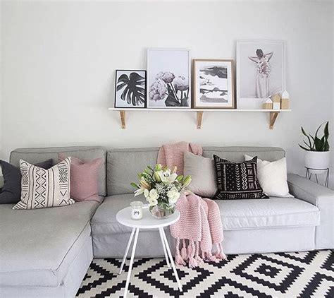 pink  grey rug ideas  pinterest living