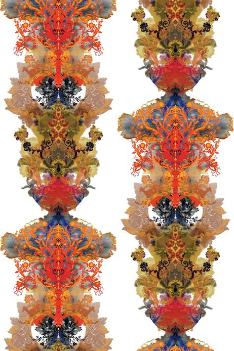 timorous beasties fabric grand blotch damask fabric