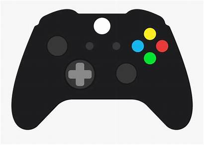 Controller Xbox Clip Controllers 360 Clipart Transparent