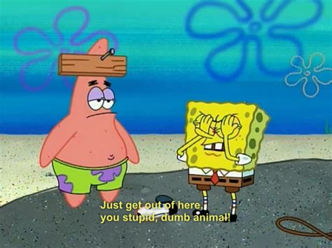Spongebob And Patrick Funny Quotes. Quotesgram