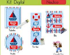 kit festa digital marinheiro elo7