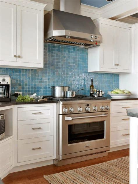 blue tile backsplash kitchen blue backsplash the cushman design ho me