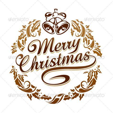 creative christmas typography designs   greeting