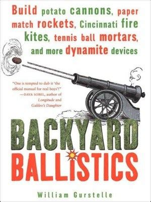 Backyard Ballistics by Backyard Ballistics In Boing Boing Bazaar Boing Boing