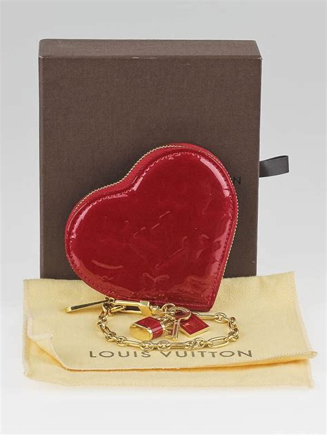 louis vuitton pomme damour monogram vernis heart bag
