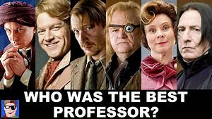 Who Was Harry's Best Defense Against The Dark Arts Prof ...
