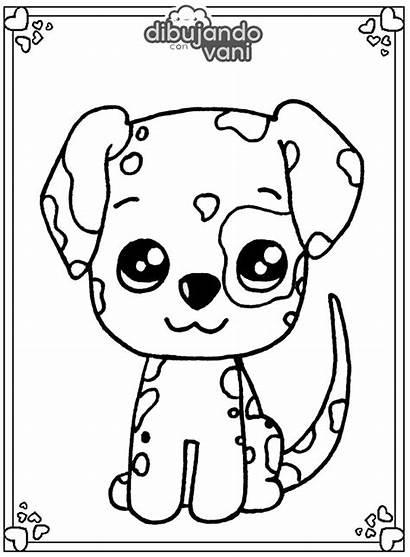 Imprimir Dibujos Animales Perros Perro Dalmata Colorear