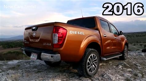 2016 Nissan Np300 Frontier Le 4x4 Diesel -auto Photo News