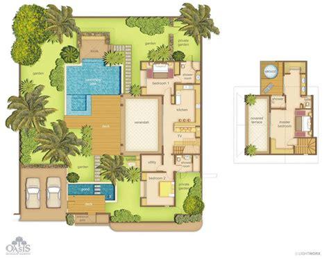 modele de cuisines equipees villas oasis 1 à 3 chambres ile maurice